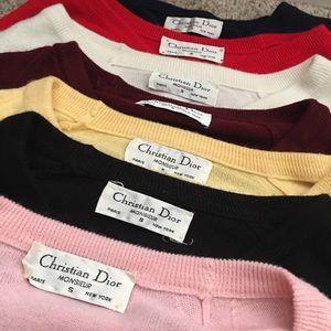 Men's Dior Sweater Bundle